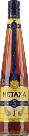Metaxa Brandy 5 Star 76@